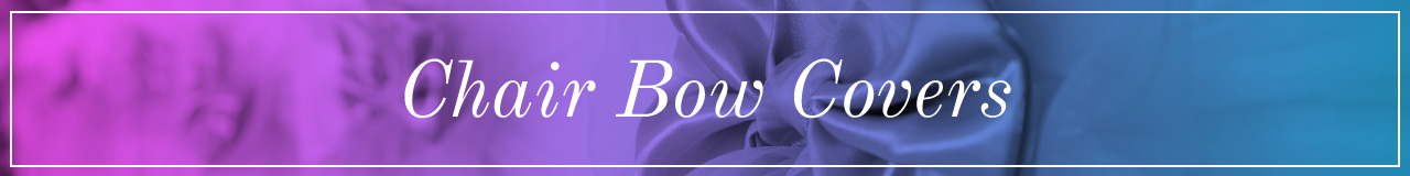 Chair Bow Covers
