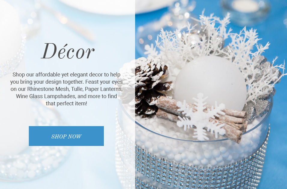 shop wedding and event decor