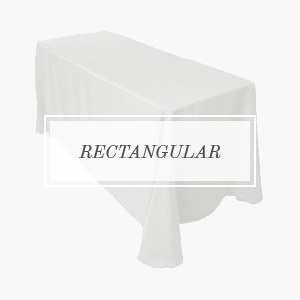 shop polyester rectangular tablecloths