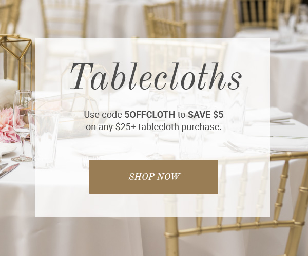 Shop rectangular, round, spandex tablecloths