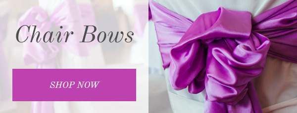 Shop Satin and Organza Chair Bows