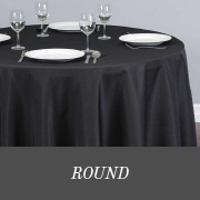 shop round tablecloths